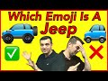 THIS ?? IS NOT A JEEP! Help change the Jeep Emoji by sharing