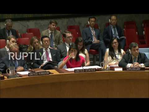 UN: Security Council votes in favour of new sanctions against North Korea