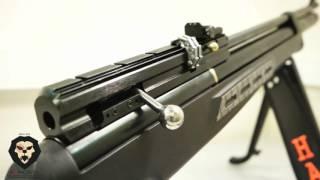 Пневматическая винтовка Hatsan BT 65 SB PCP 4,5 (Видео-Обзор)