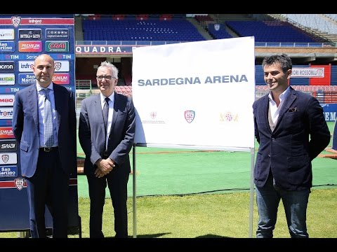 Presentata la Sardegna Arena, il nuovo stadio del Cagliari Calcio