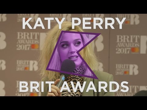 Katy Perry Backstage Interview | BRIT Awards 2017