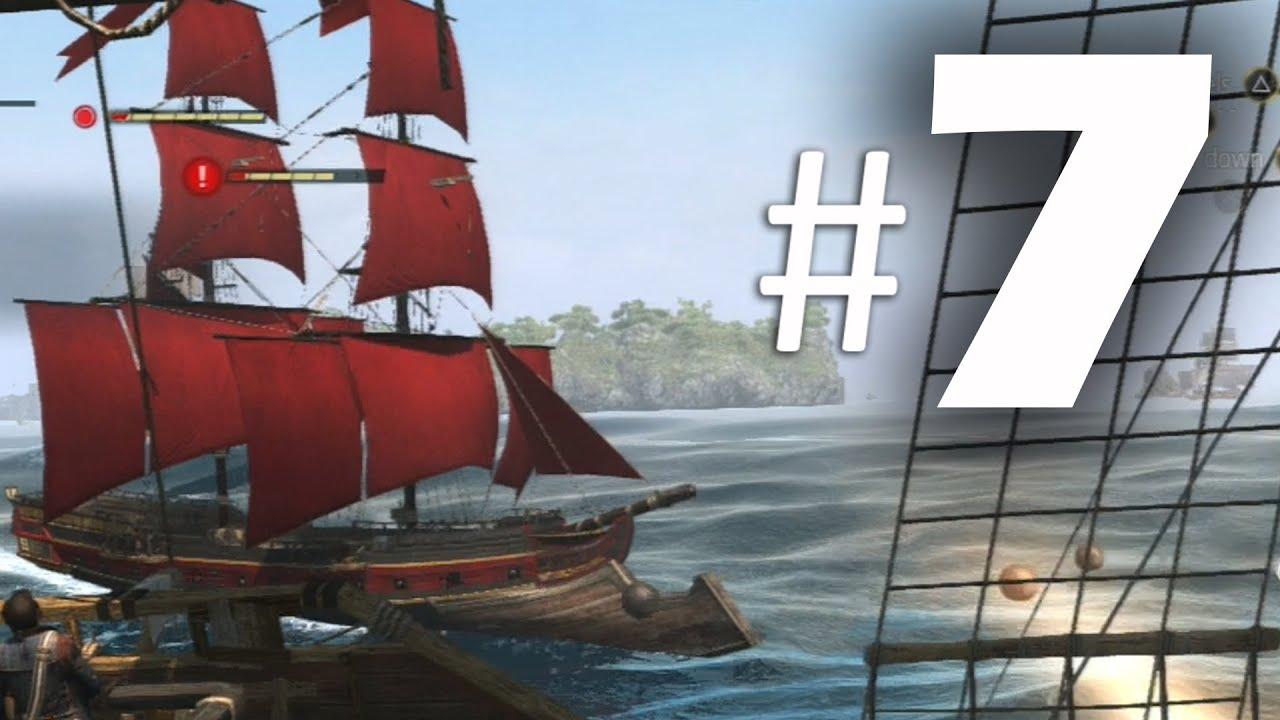 Assassin's Creed 4 Black Flag Gameplay Walkthrough Part 7 – Raise the Black Flag 100% Sync