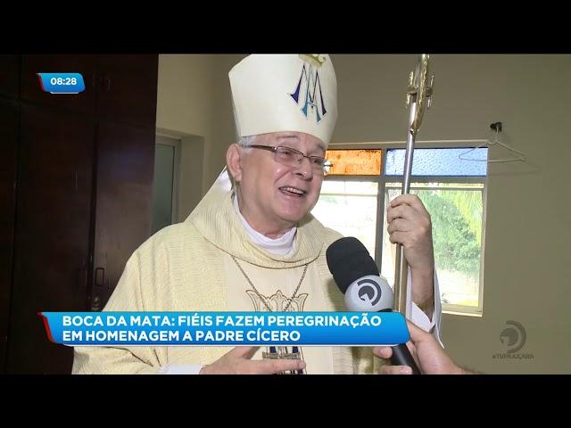 Devotos fizeram peregrinação em homenagem a Padre Cícero