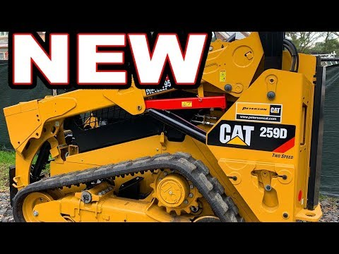 Delivery Of Our Brand New Caterpillar 259D (Excavation And Grading Business)