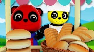 Hot Cross Buns   Baby Bao Panda   Nursery Rhymes For Children by Kids Tv