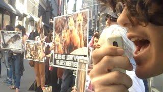 Macy's Fur Protest