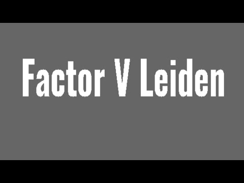 The Hyperlink Between Factor V Leiden and Recurrent Miscarriages