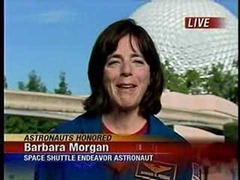 NASA Astronaut Barbara Morgan talks about her spaceflight