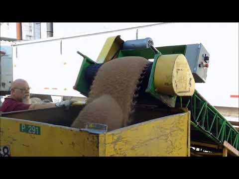 Bottom Dump Car Unloader Conveyor