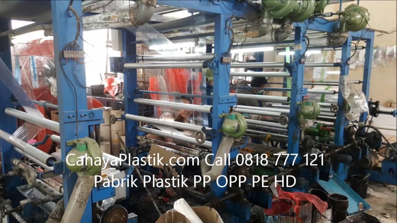 Plastik OPP dari Pabrik Plastik Jual PP PE HD Langsung