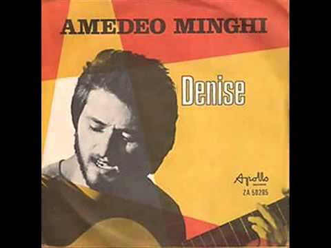 Amedeo Minghi  Denise  Anno 1972  YouTube