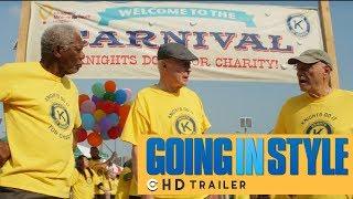 Going in Style Official Trailer (2017) | Morgan Freeman, Christopher Lloyd | CinezTrailers HD