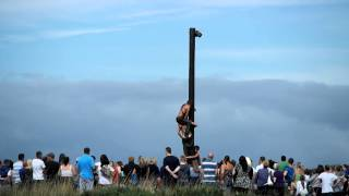 Marymass Festival 2013 Greasy Pole