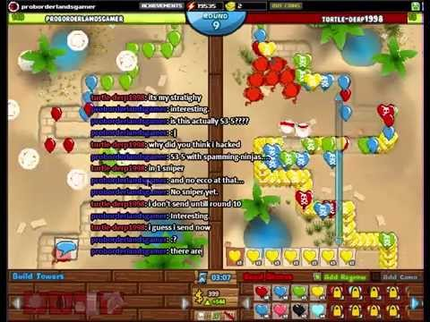 Bloons TD Battles (BTDB): Hacker vs God