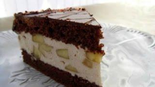Шоколадный торт_  Бонжур