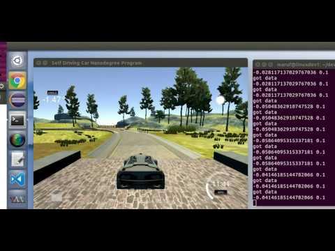 Autonomous driving using neural network