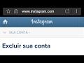 Como desativar ou excluir sua conta no Instagram segue link abaixo na descrição