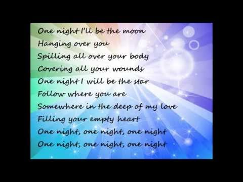CHRISTINA PERRI One night Lyrics