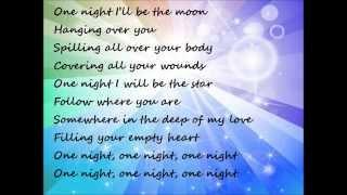 Gambar cover CHRISTINA PERRI One night Lyrics