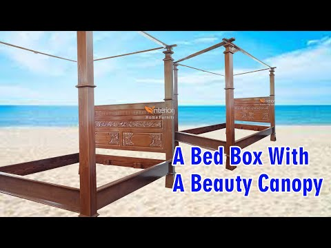 Tempat Tidur Kayu Jati Motif Ukiran Majapahit 160*200cm