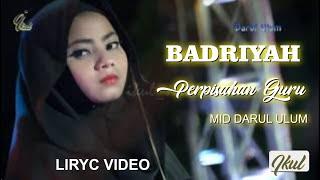 MID DARUL ULUM BADRIYAH Perpisahan Guru cover Benci Kusangkan Sayang-Sonia  