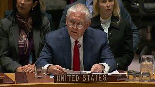 Tillerson Backtracks on North Korea Stance