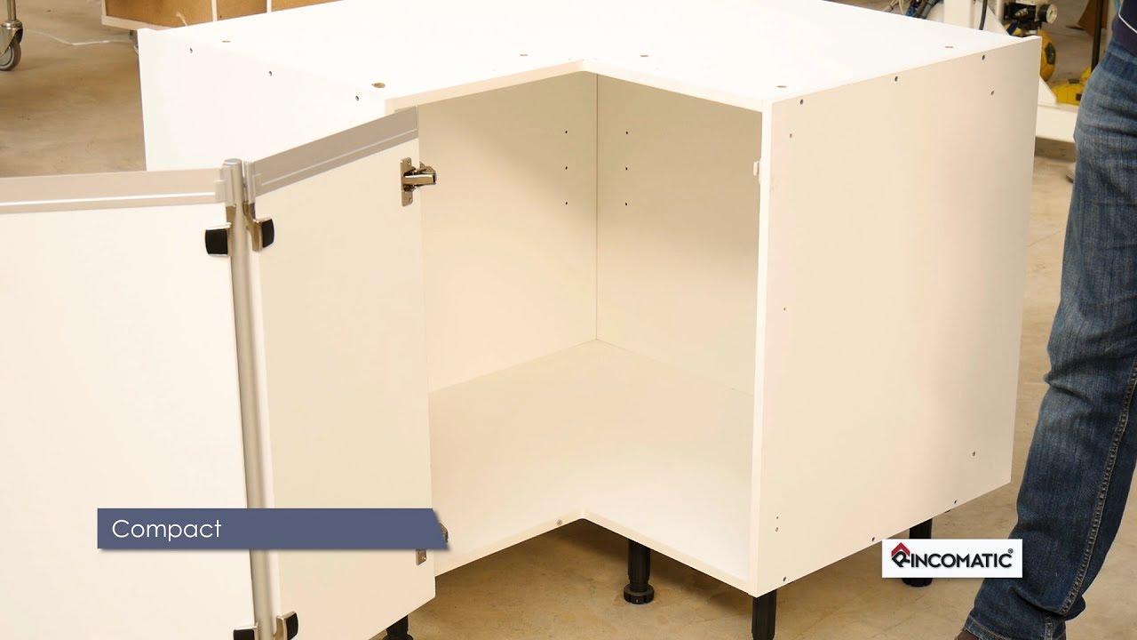 Instalaci n de compact32 bisagra para mueble de rinc n youtube - Bisagra mueble cocina ...