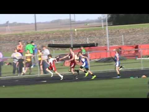 Boys 4 x 100 meter relay Bethlehem Academy 2017