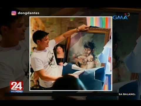 24 Oras: Dingdong Dantes, binigyan ng painting ni Marian Rivera at sinorpresa ng kanyang mga... - 동영상
