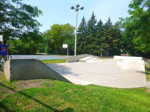 201th - Skatepark du Parc Donald Fletcher Montréal (Côte St-Luc)