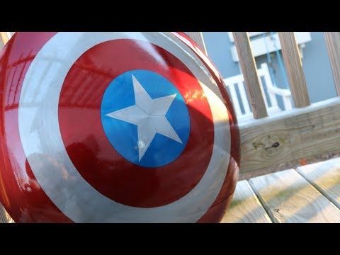 Metal Captain America Shield: DIY Tutorial Avengers Endgame