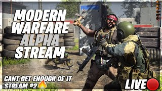 [Road To 2K] Call of Duty Modern Warfare Alpha Gameplay! #PS4LIVE #Familyfriendly #LIVE