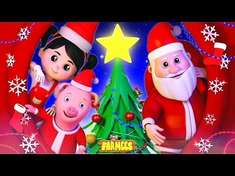We Wish You A Merry Christmas | Christmas Songs For Kids | Kindergarten Nursery Rhymes by Farmees
