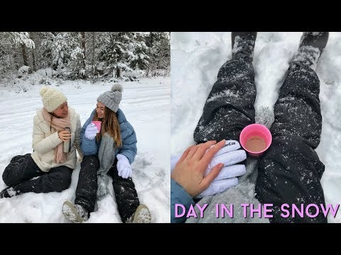 Snow Day | Day in my Life in Finland