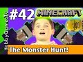 Minecraft Floyd #42 The Witch Hunt! Xbox 360 Gameplay HobbyKids + Lego Floyd HobbyGamesTV