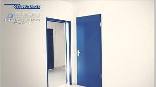 Как сделать дверь между блок контейнерами. Модульные здания CONTAINEX(, 2015-09-10T06:13:12.000Z)