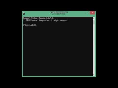OPEN CMD FROM ANYWHERE! BYPASS ADMINISTRATOR BLOCKS!