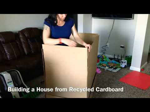 how-to-build-a-playhouse-from-recycled-cardboard-diy/-activities-for-kids