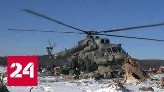 Смотреть видео Восстановить русло Буреи поможет военная авиация - Россия 24 онлайн