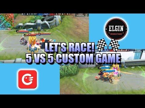5 VS 5 PUSH RACE GAME MODE 🏁