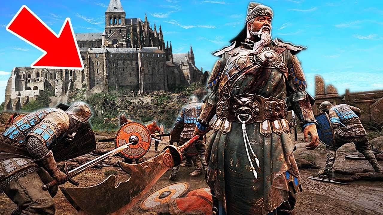 ATTACKING & DEFENDING A CASTLE!! (For Honor: Marching Fire)