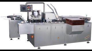 Toothpaste Box Encasing Machine For Shoe polish Carton Packing Machinery