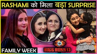 OMG! Rashami Desai Gets SHOCKING Surprise During The Family Week | Bigg Boss 13