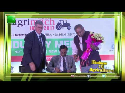 Ashwani Kumar, Ministry Of Agriculture & Farmers Welfare In Eima AgriMach India 2017 On Green TV