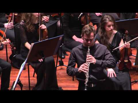 Edinburgh Youth Orchestra - Strauss: Oboe Concerto soloist Julian Scott, Conducted by Sian Edwards