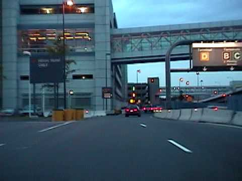 Boston Logan Airport Parking >> Logan Airport Boston, June 2002 - YouTube