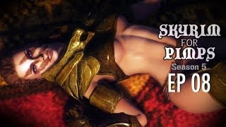 Skyrim For Pimps - S*x With Aela (S5E08) - Companions Walkthrough