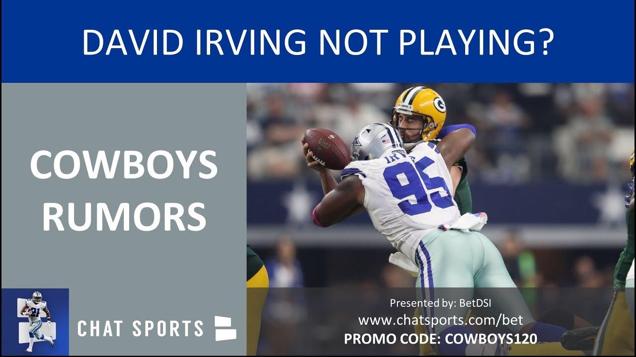 e346ad353b2 Cowboys Rumors & News: David Irving Not Playing, Taco Charlton ...
