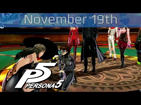 Persona 5 - November 19th: Saturday Casino Palace Boss Walkthrough [HD 1080P]
