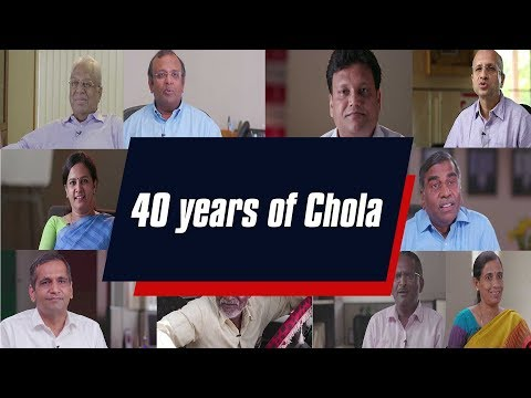 Chola Completes 40 Glorious Years!